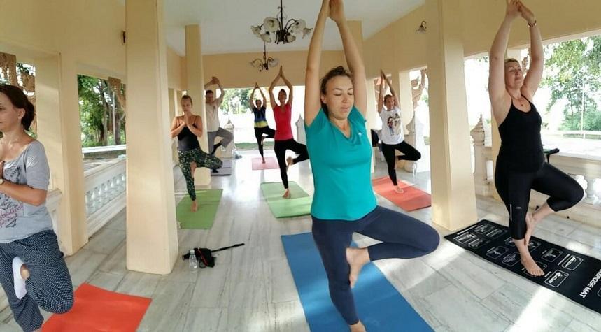 В Тае много центров йоги