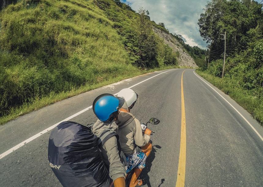 Обзорная экскурсия на мотобайке