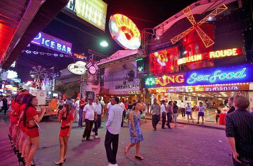 Ночные улицы Таиланда