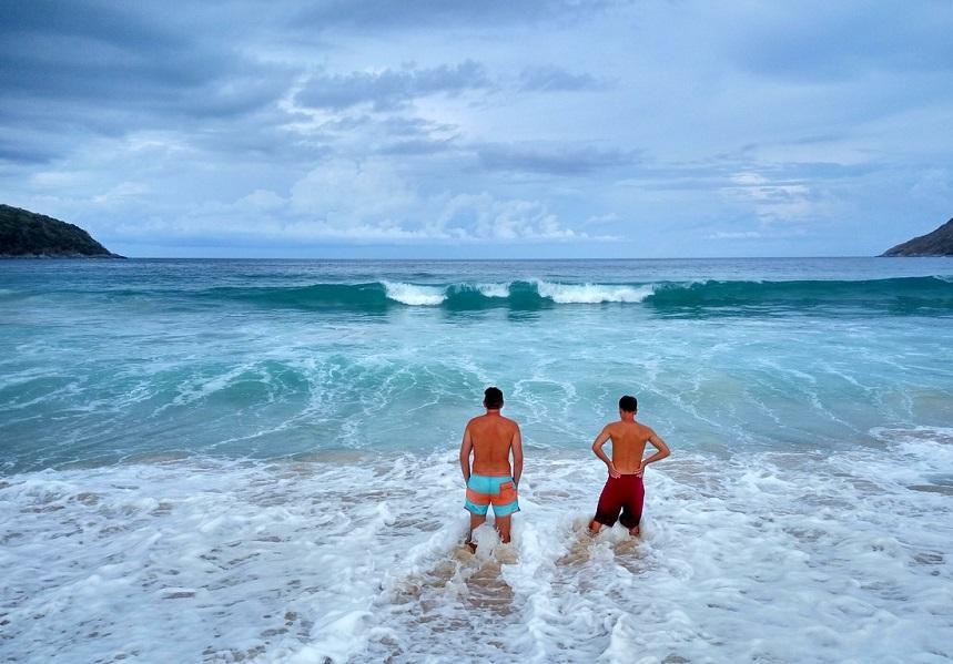 Волны в Таиланде