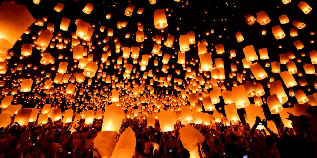 Фестиваль фонарей