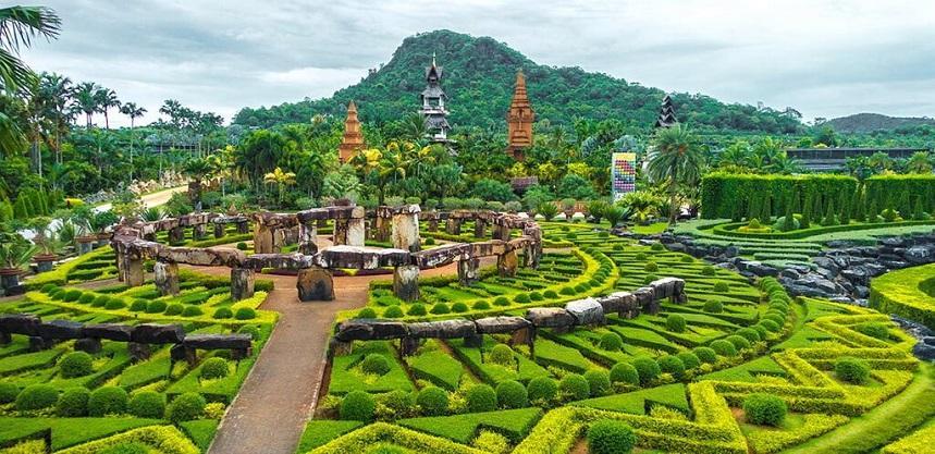 ботанический сад Нонг Нуч