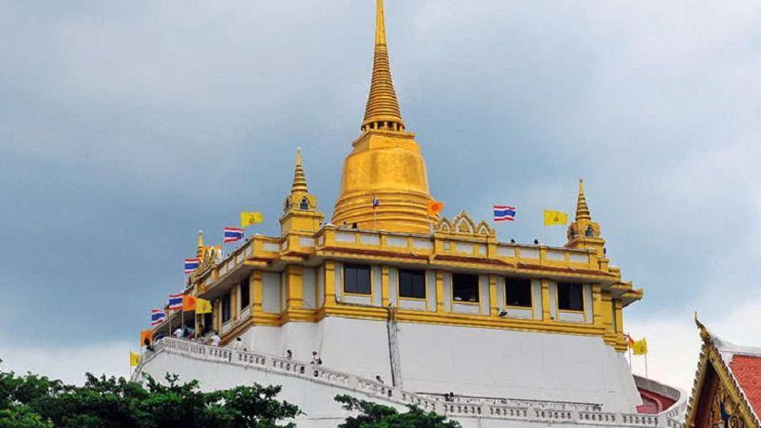 Храм Золотая Гора в Бангкоке