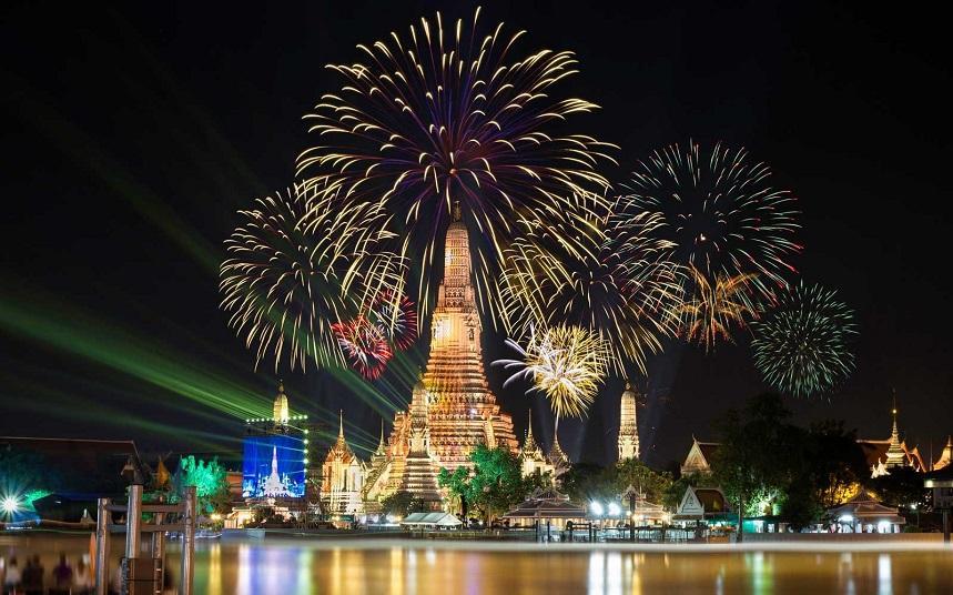 Тайский новый год в Бангкоке
