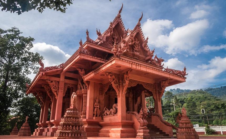 Красная пагода
