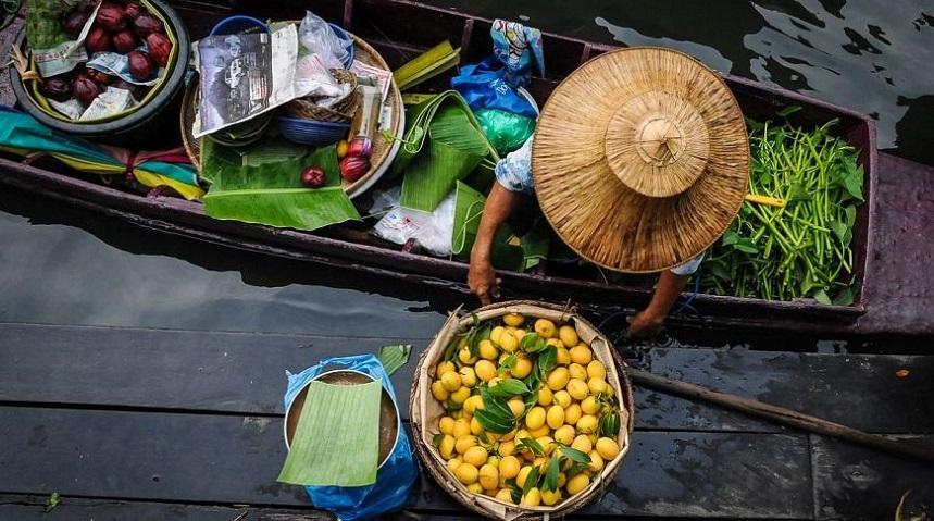 Плавучий базар в Паттайе