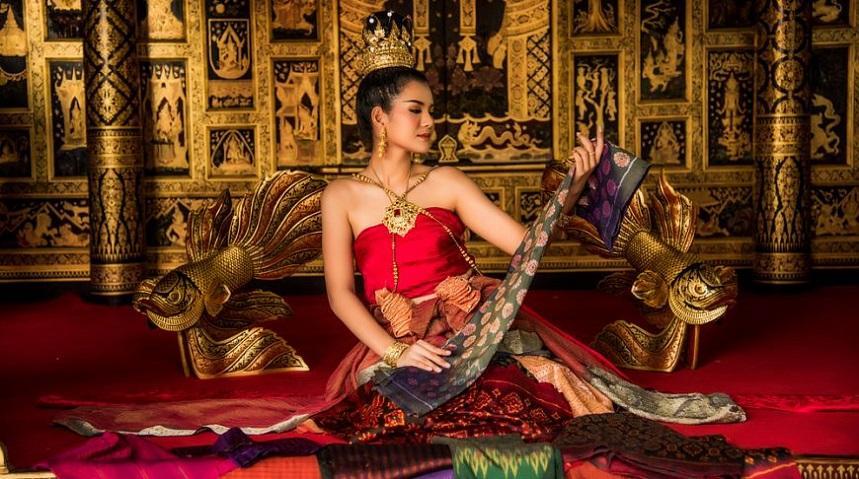 Тайский шёлк