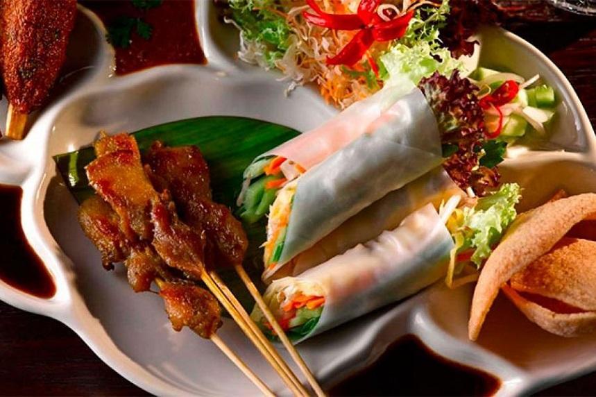 Тайская кухня яркая