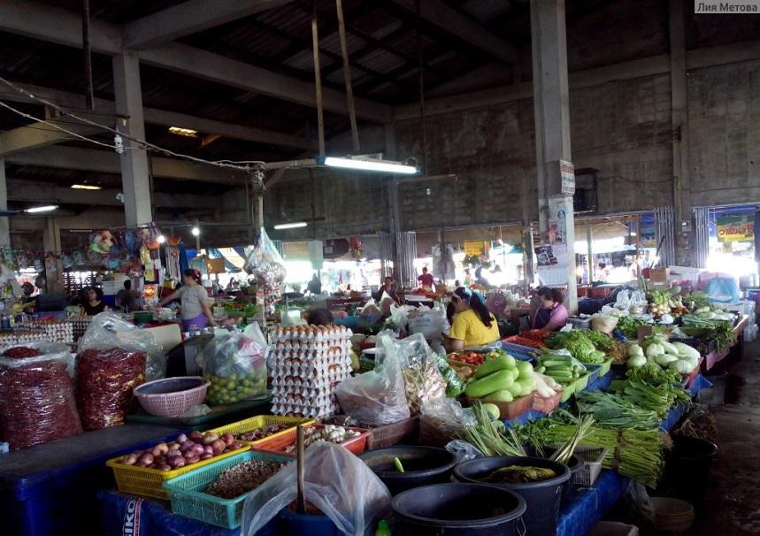 Рынок в Бан Фе