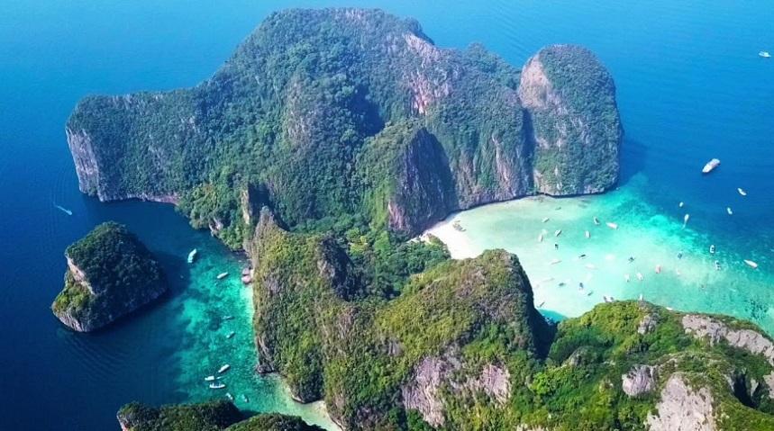 Майя Бэй на острове Пхи-Пхи