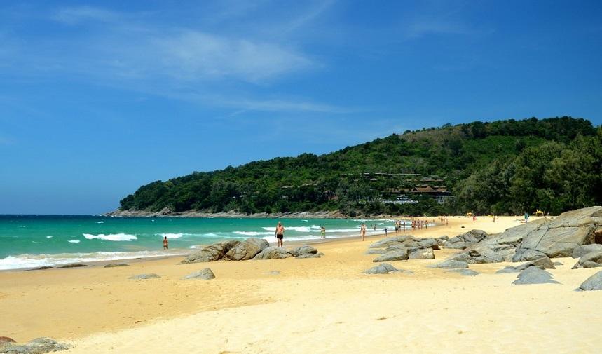 Найтон - самый небольшой пляж Пхукета