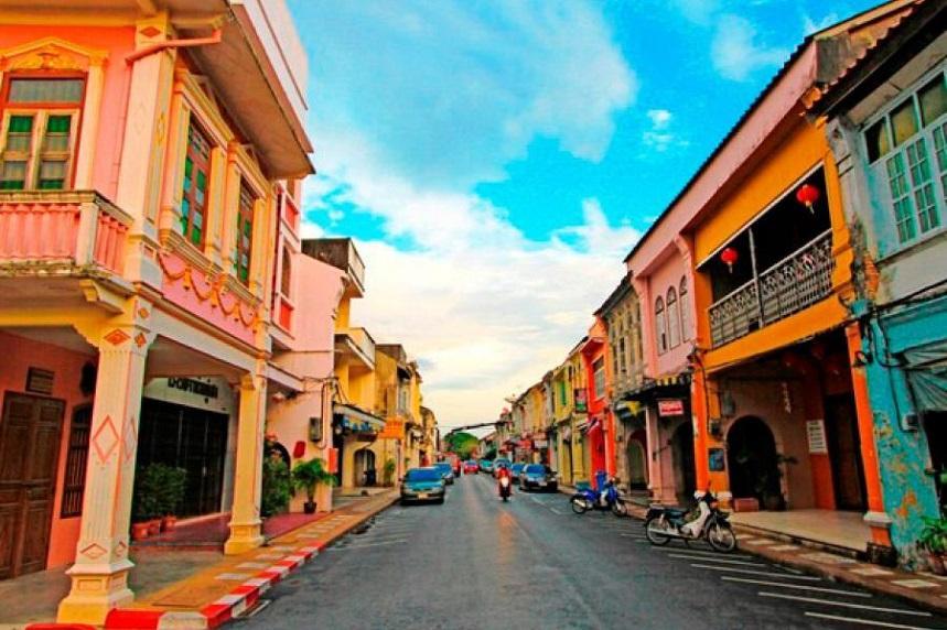 Старый город Пхукета