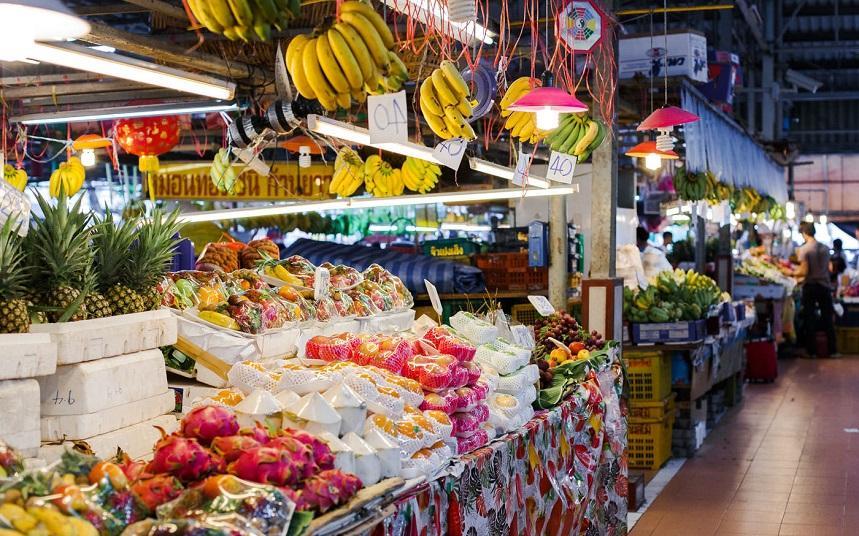 Khlong Toey Market в Бангкоке