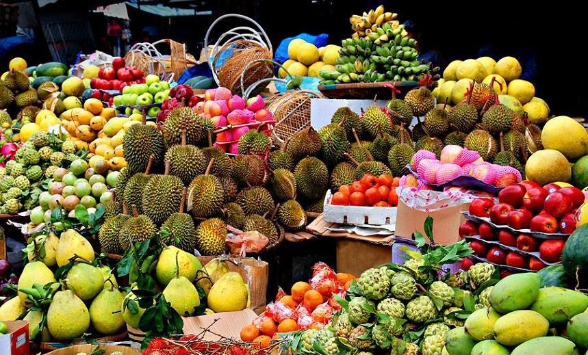 Фрукты рынки Таиланда