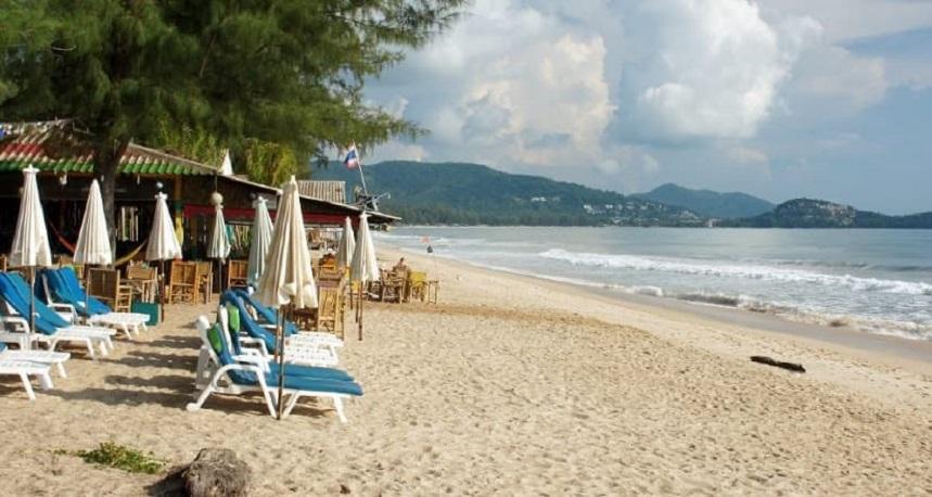 Банг Тао, Пхукет. Вид от пляжа. Лучшие отели Пхукета