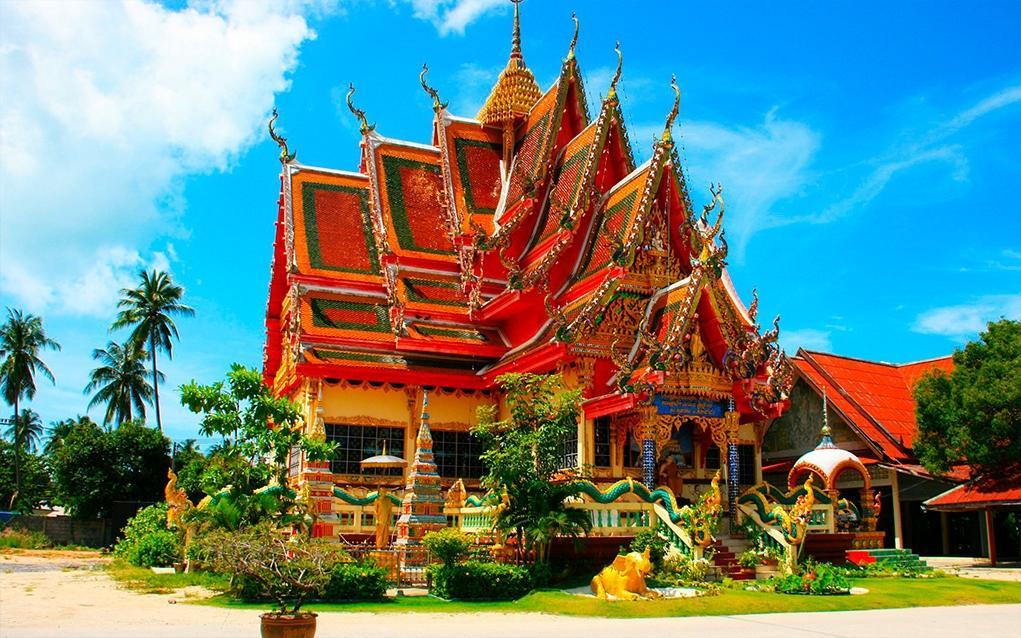 Фото храма в Таиланде