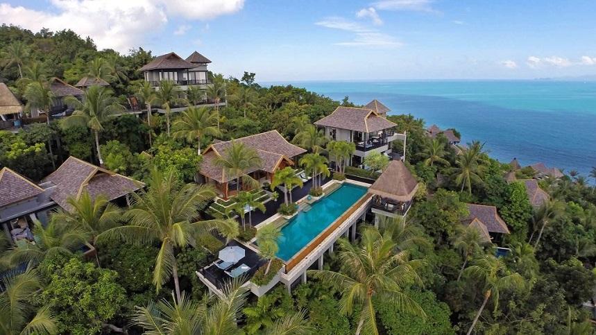 Four Seasons Resort Koh Samui Thailand Лучшие отели Самуи