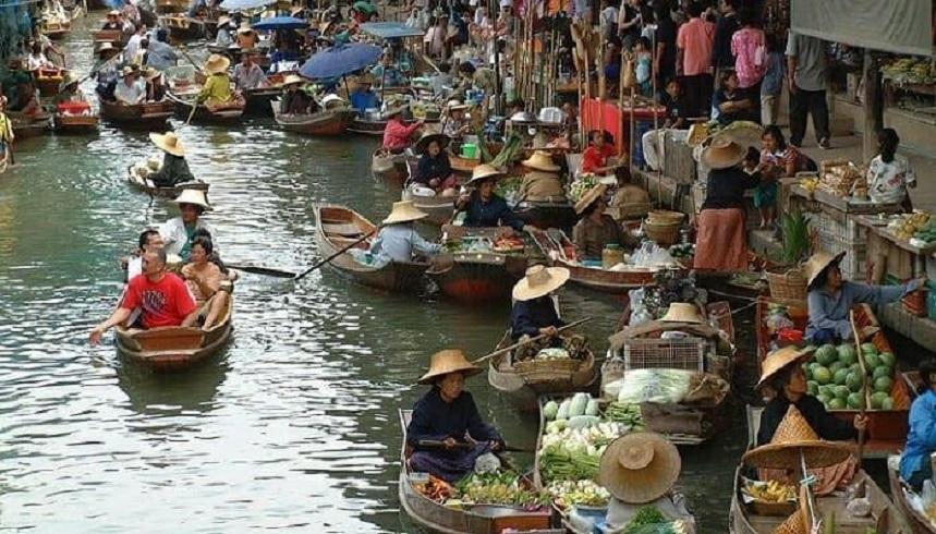 Плавучий рынок в Паттайе – шопинг по-тайски