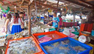 Пхукет, рыбный рынок Равай: как добраться, обзор