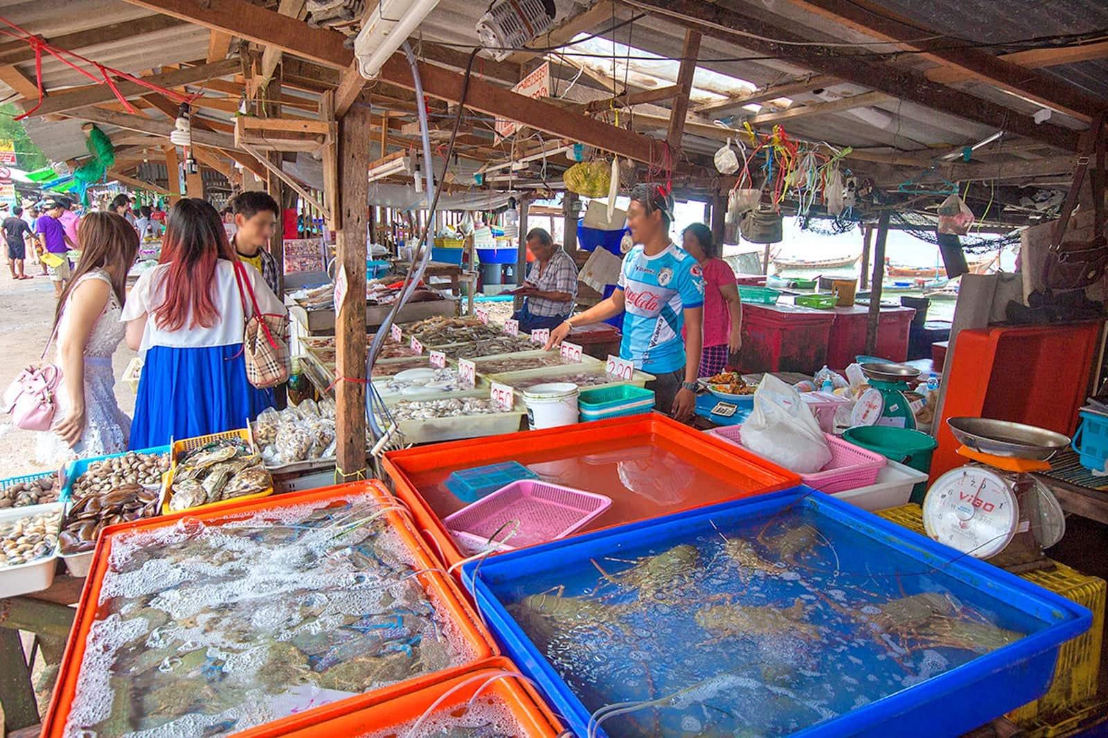Фото рыбного рынка в Равае