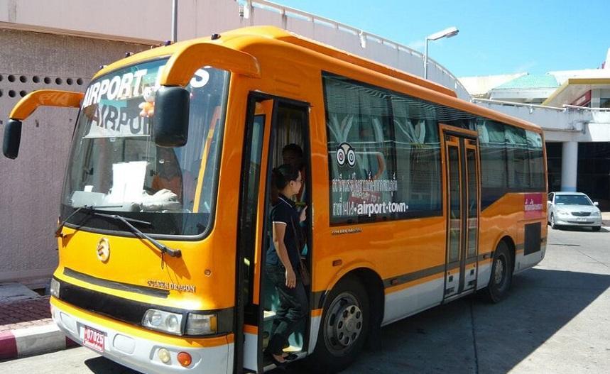 Автобусы до города Пхукет