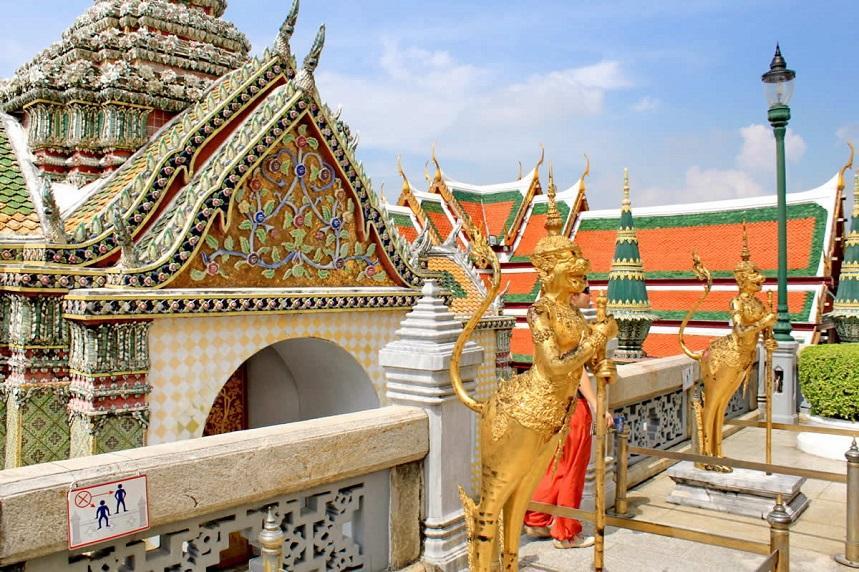 Дворец в Бангкоке Таиланд