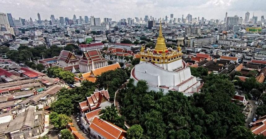 Храм Золотой Горы, или Ват Сакет