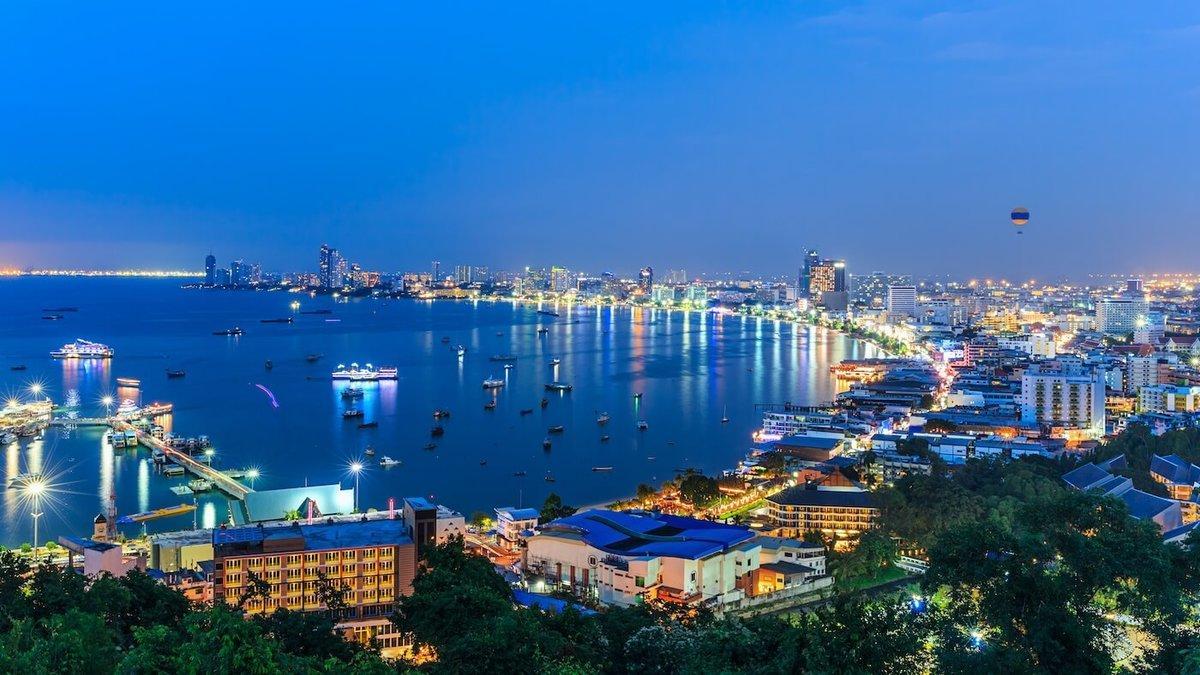 Какое море в Таиланде на Паттайе