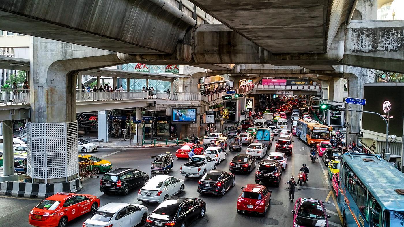 Фото транспорта в Таиланде