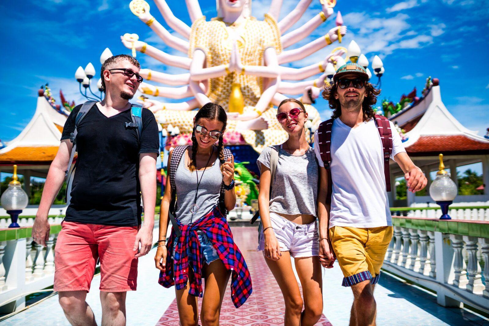 Фото туристов