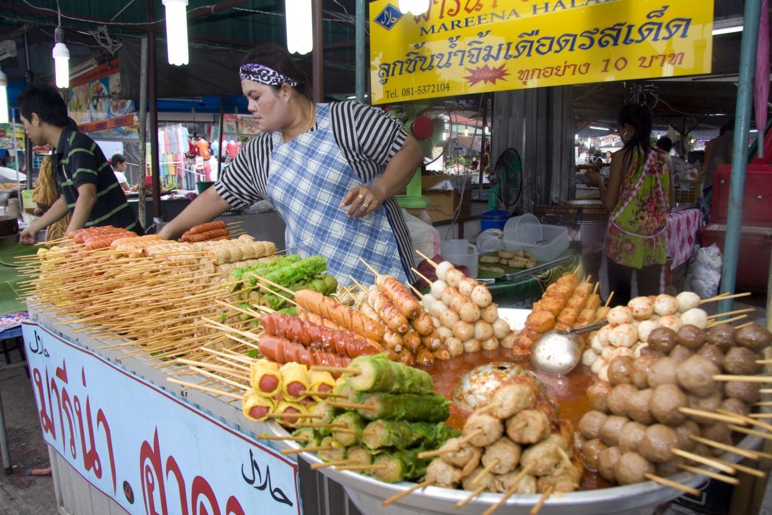 Фото продуктов в Таиланде
