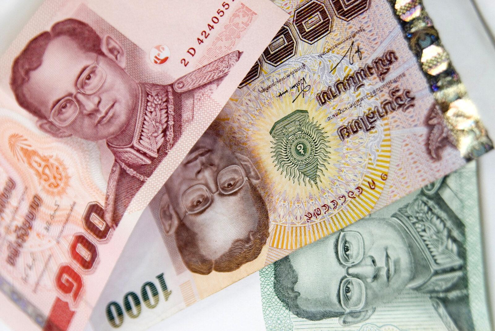 Деньги в Таиланде