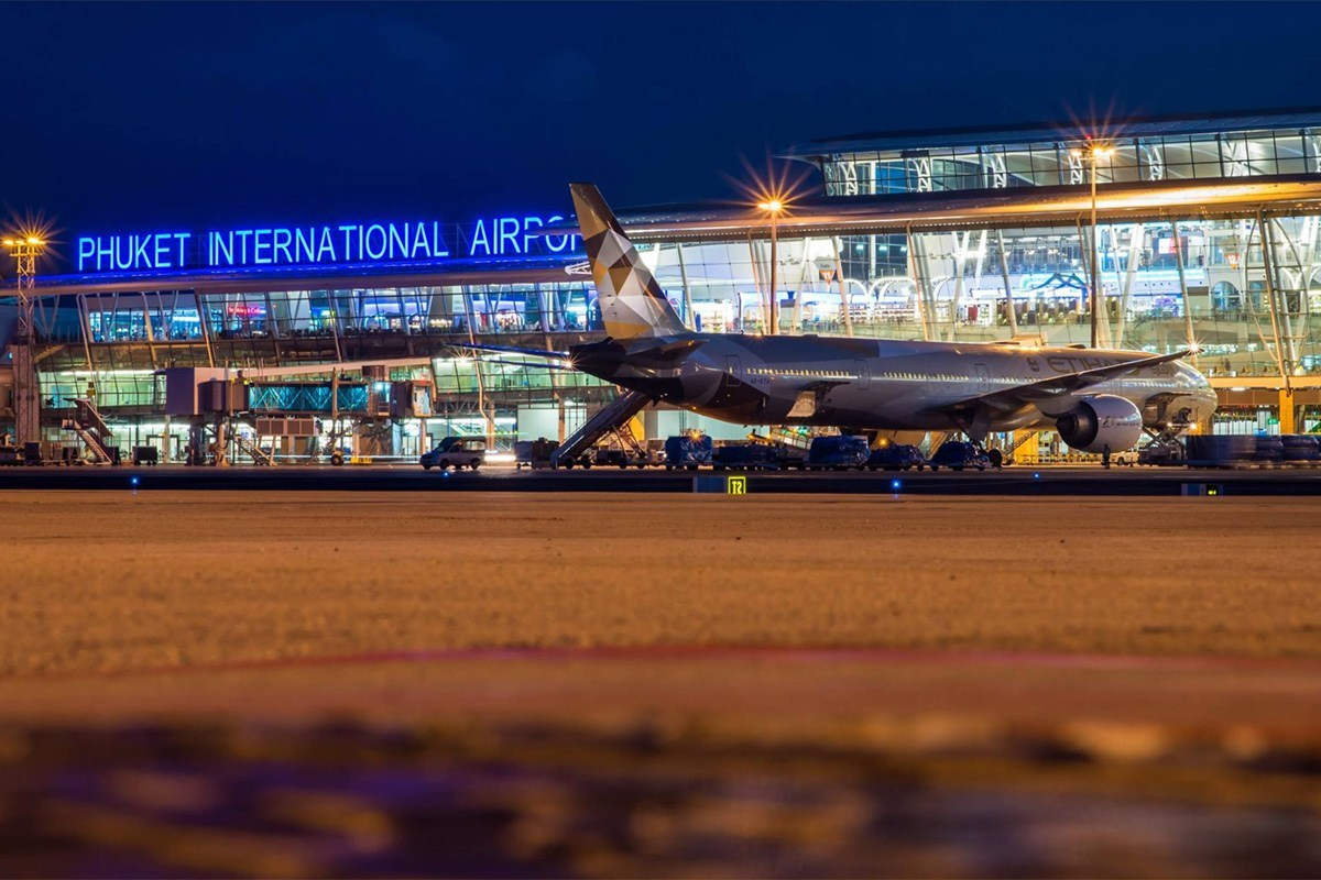 Фото аэропорта на Пхукете