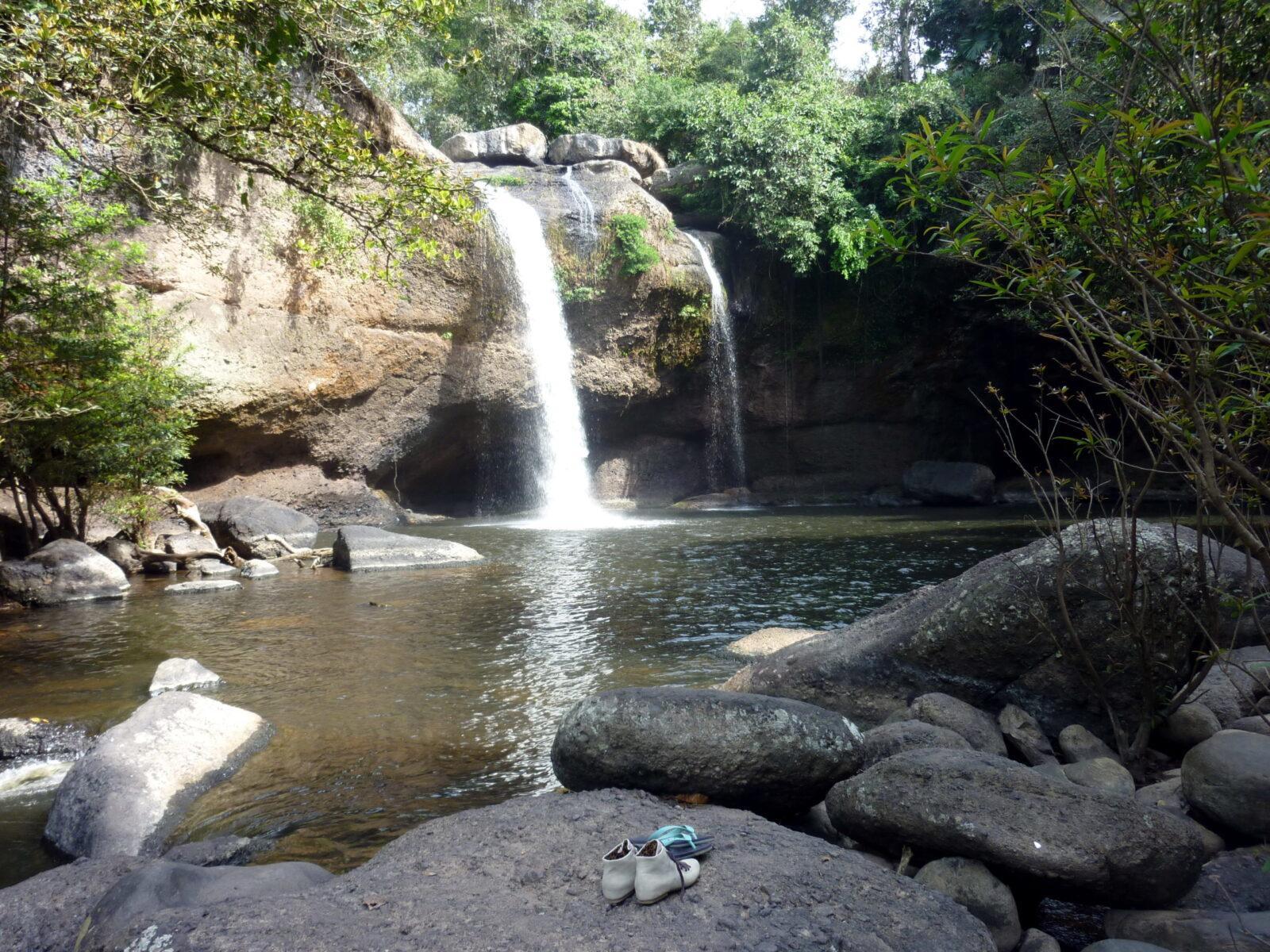 Фото водопада Лампи