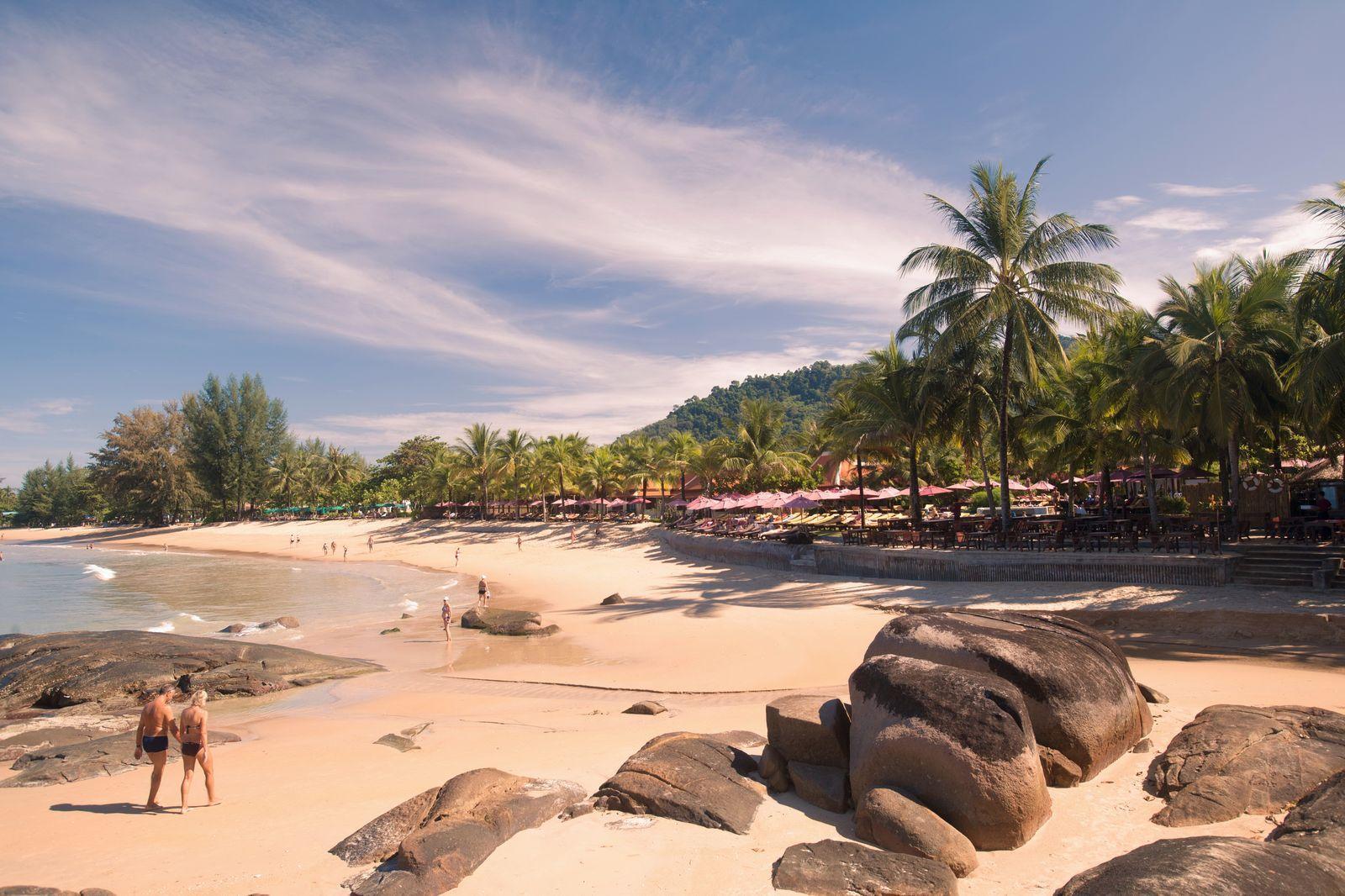 Пляжный отдых на Као-Лак