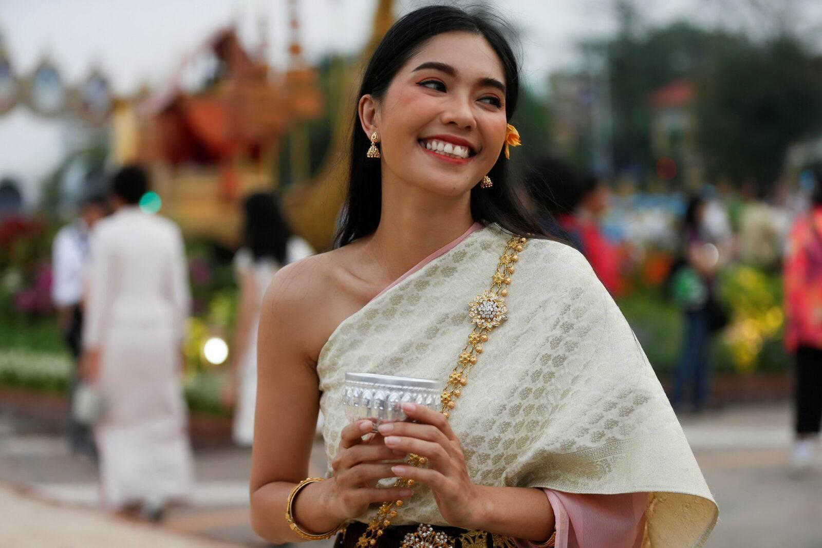Девушка в Таиланде