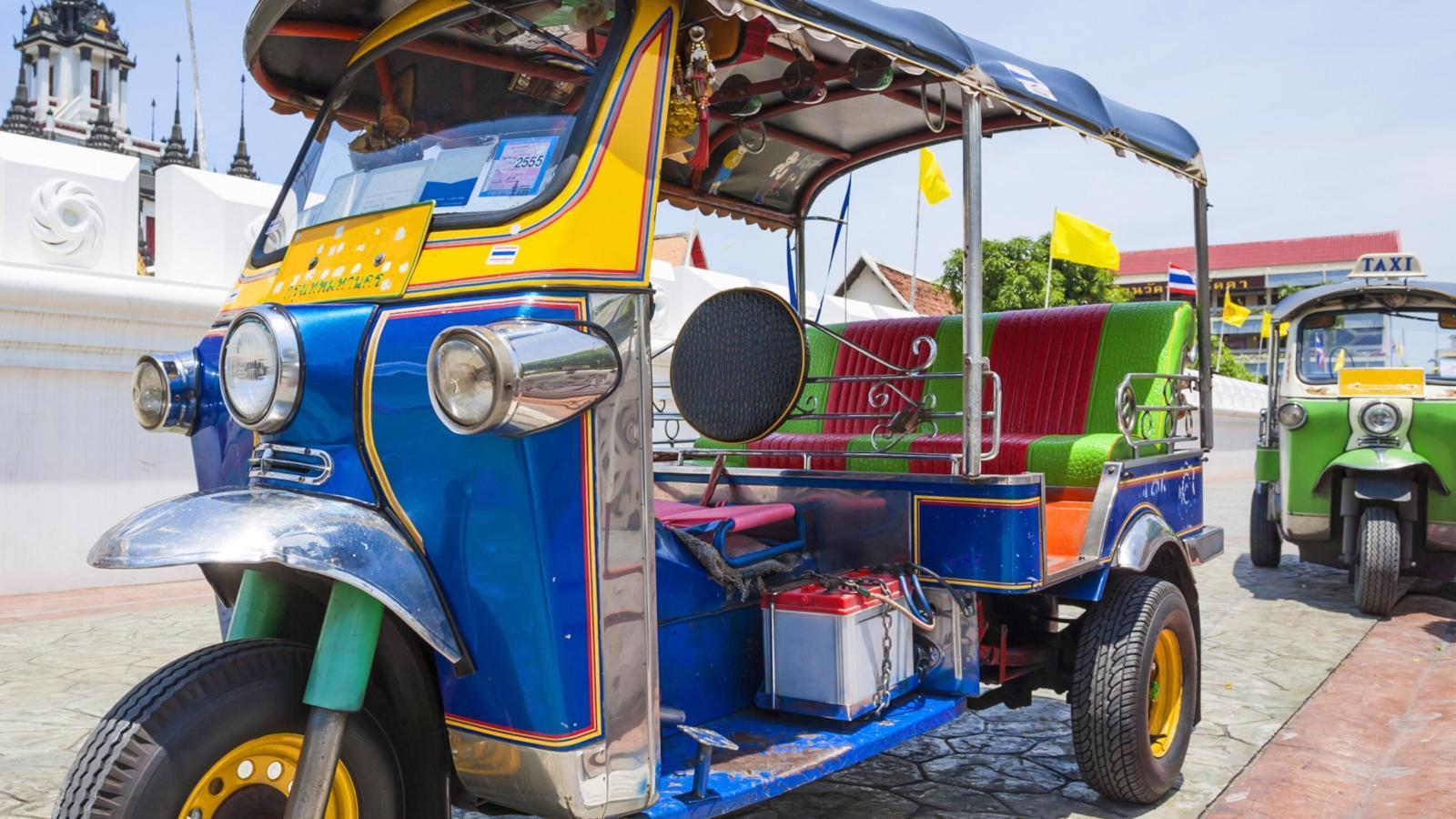 Фото Тук Тук в Таиланде