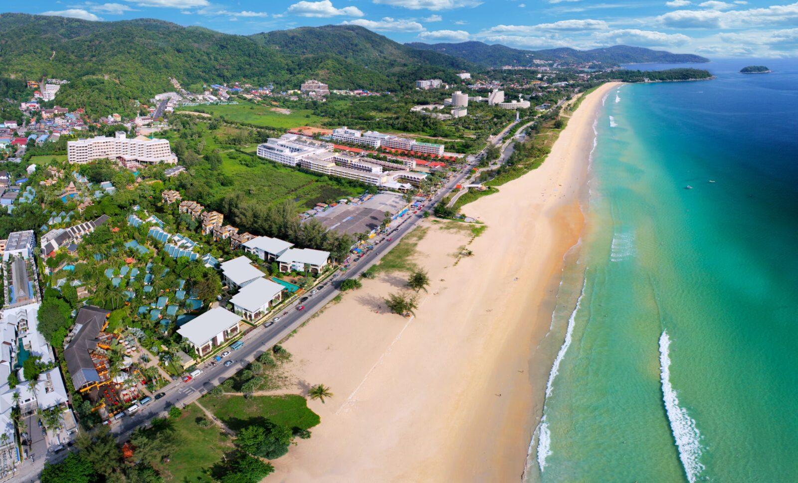 Фото пляжа у гостиницы