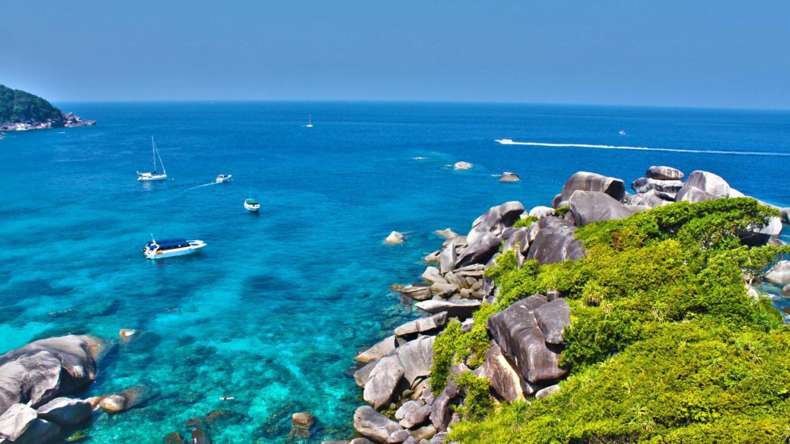 Фото Симилианских островов