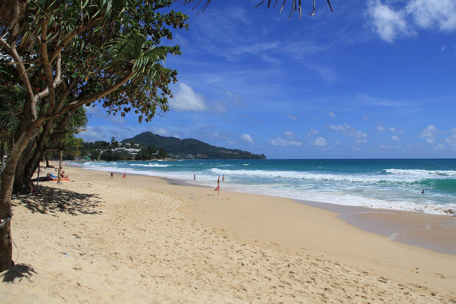 Фото пляжа Сурин