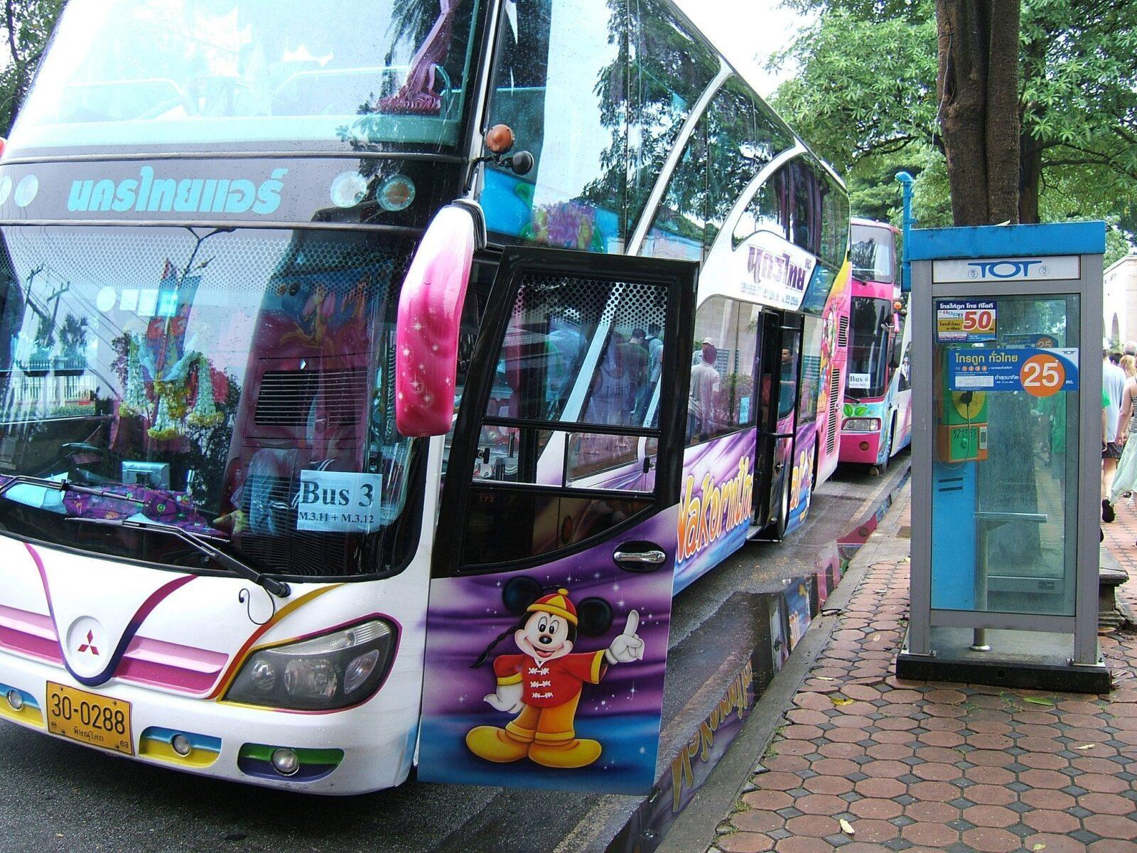 Автобусное сообщение по городу