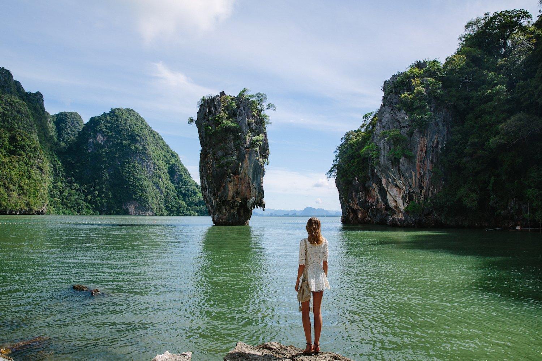 Фото берега острова