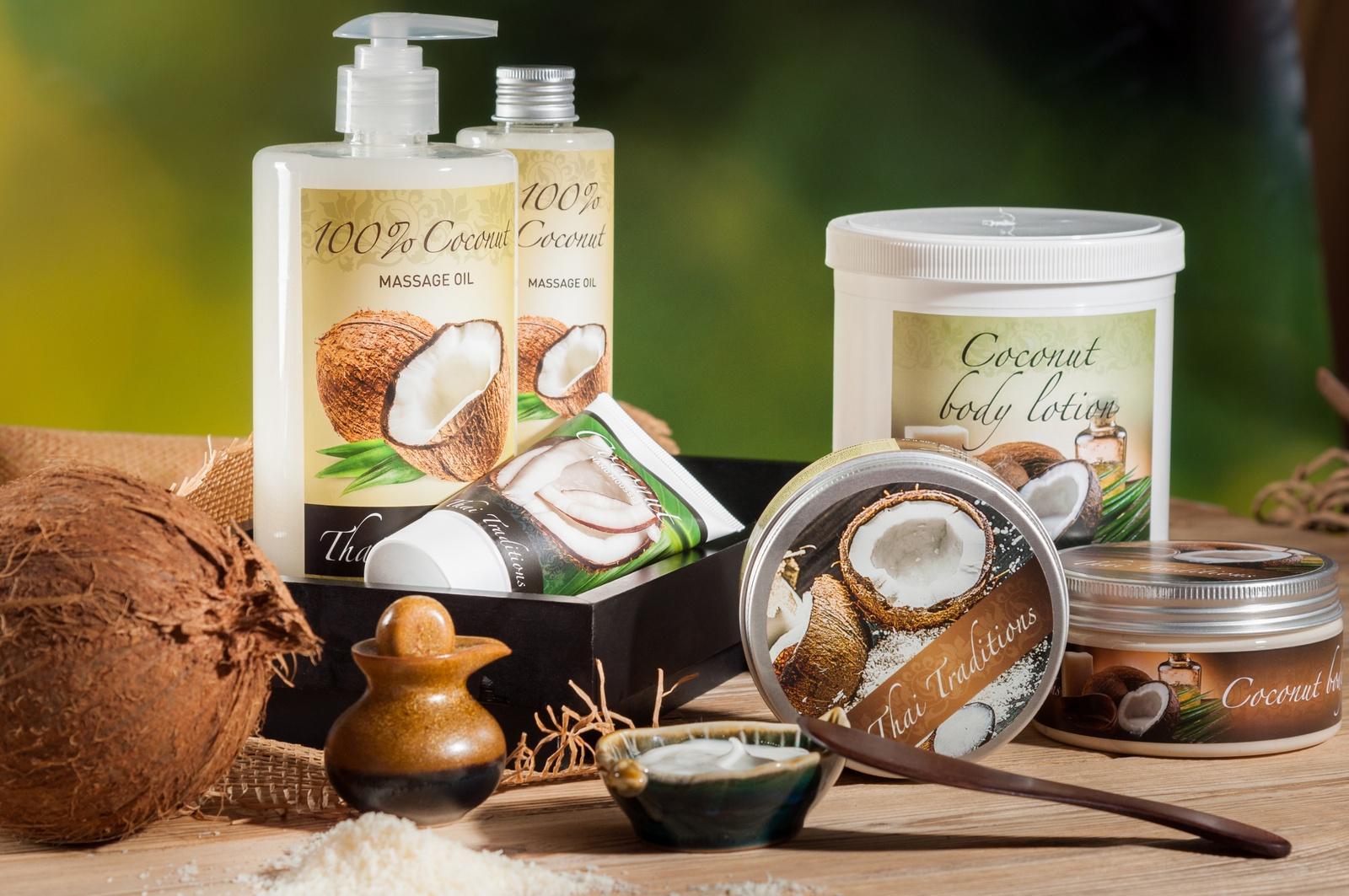 Косметика на основе кокосового масла