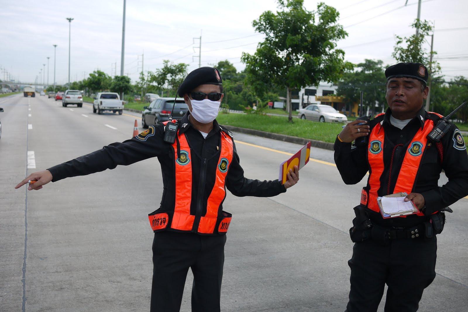 Дорожная полиция Таиланда
