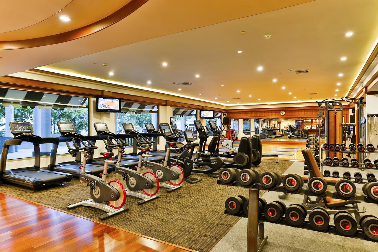Спортивный зал в отеле