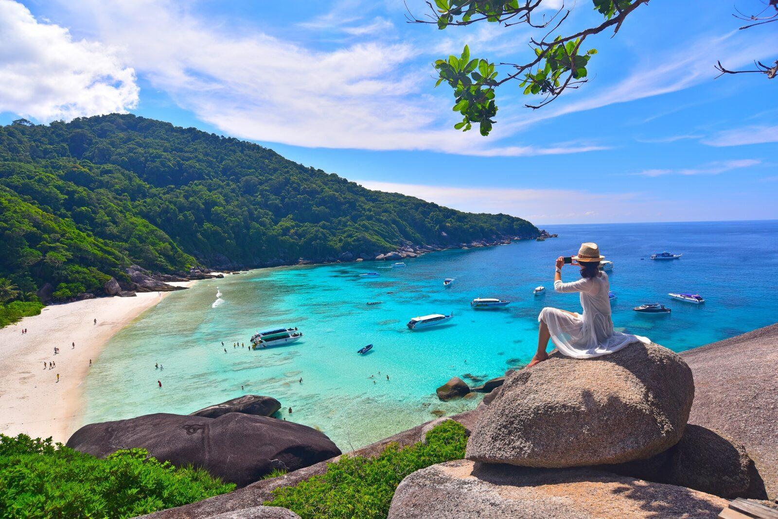 Пляжный отдых на Симиланских островах
