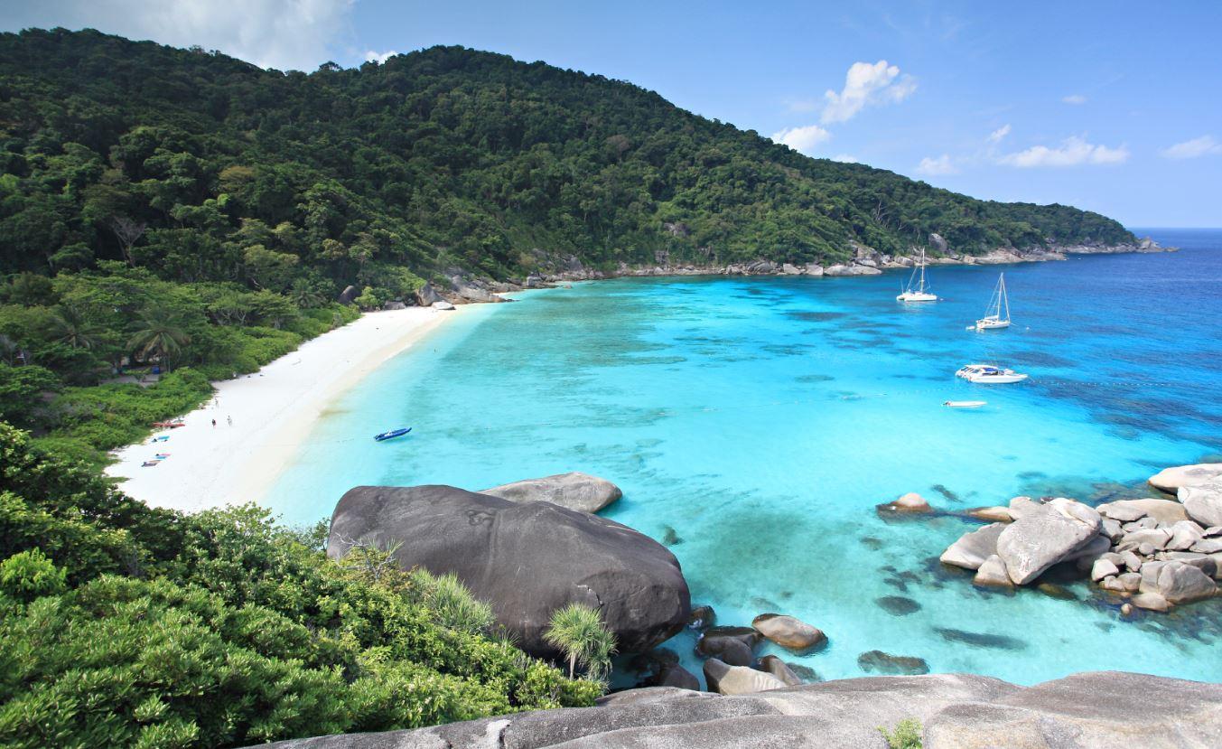 Симиланские острова в Таиланде