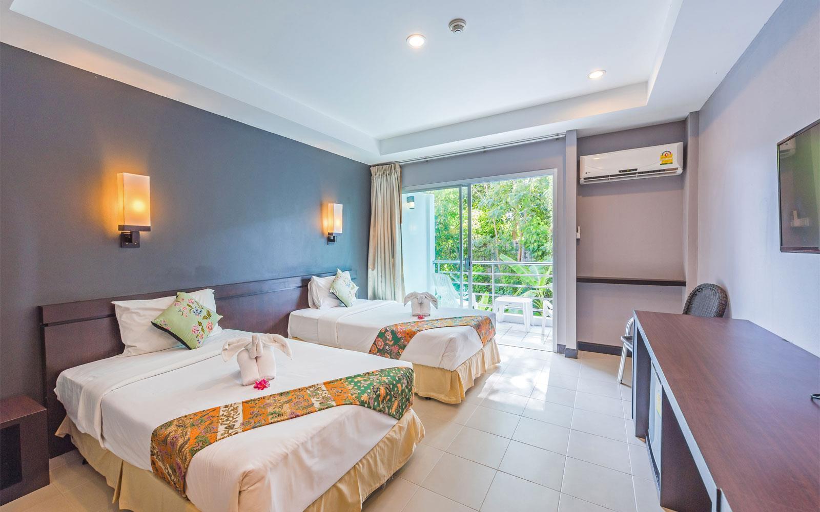 Один из номеров отеля The Natural Resort *