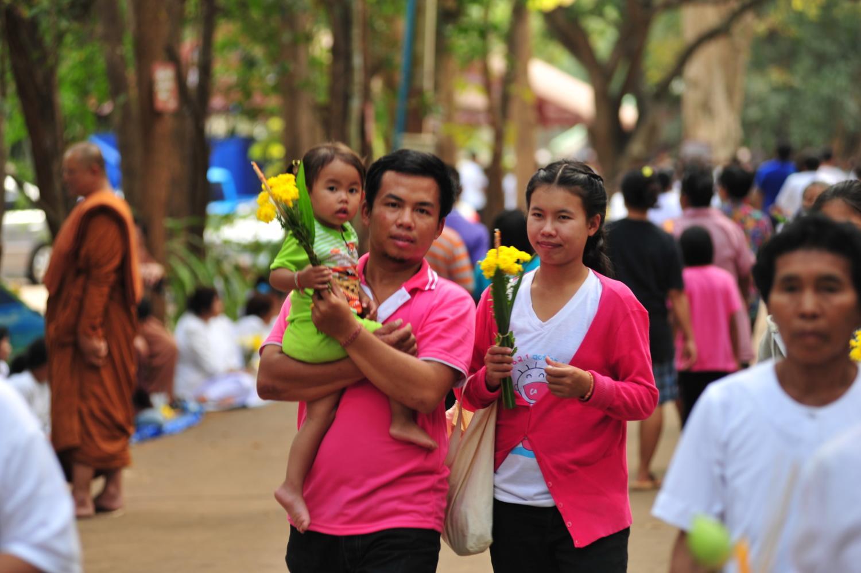 Жители юга Таиланда