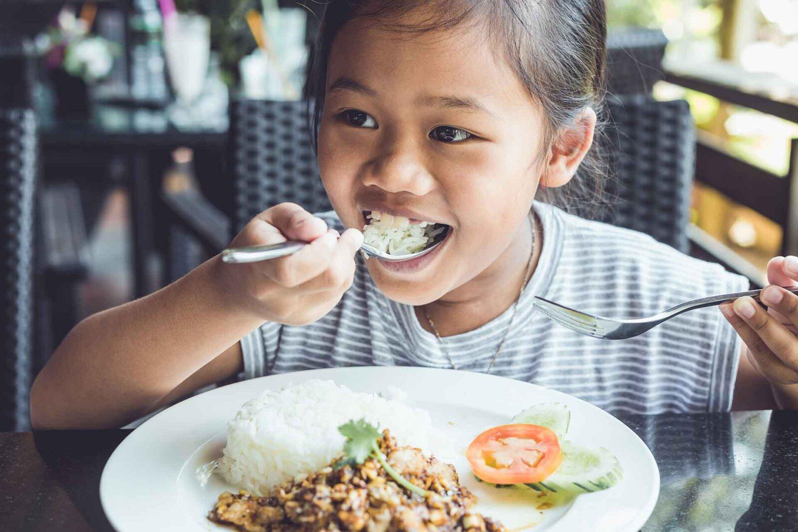 Как питаться с детьми